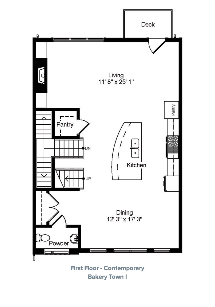 Home floorplans laurel communities for Bakery floor plan
